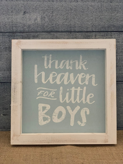 Copy of Thank Heaven For Little Boys