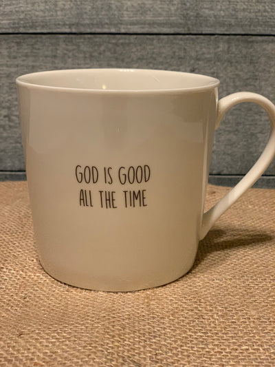 God Is Good All The Time Cafe Mug