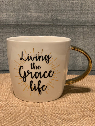 Living The Grace Life Cafe Mug