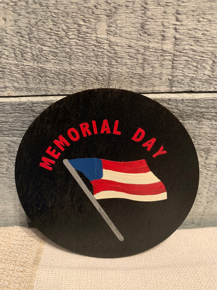 "Memorial Day is an image of the disc that goes with the ""Our Home"" sing."