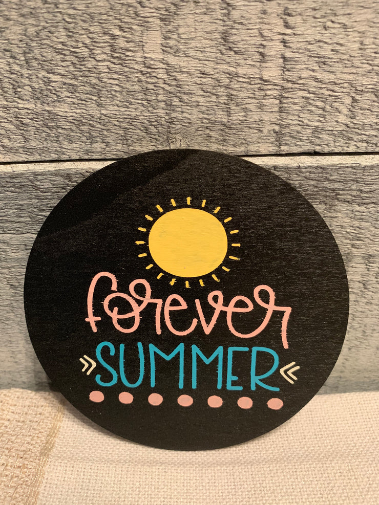 "Forever Summer is an image of the disc that goes with the ""Our Home"" sing."