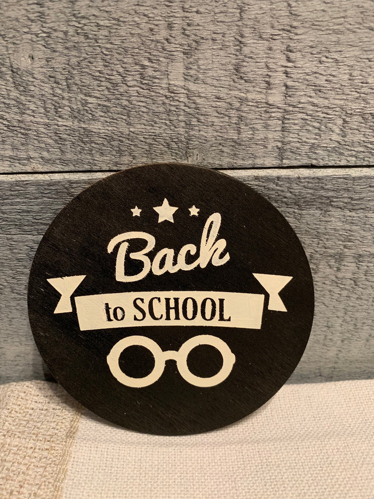 "Back To School is an image of the disc that goes with the ""Our Home"" sing."