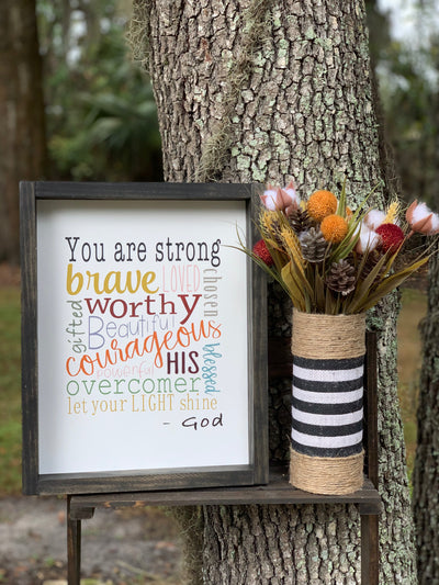 You Are Strong... (November Sign of the Month)
