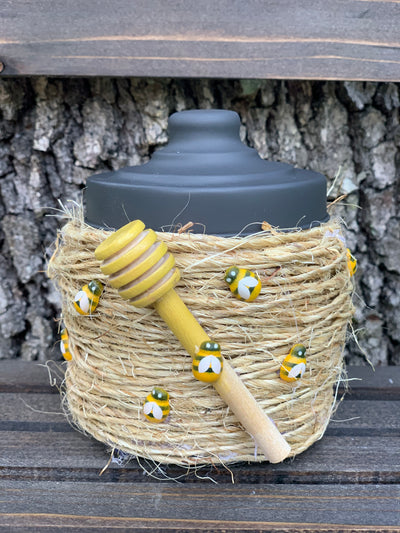 Beehive Container is shown what the pre-made version looks like.  You can purchase this premade or as a DIY Kit.