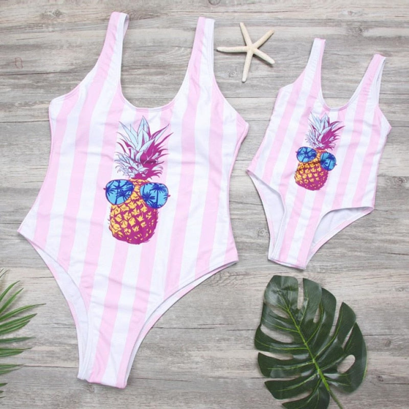Pineapple Frenzy Matching Set