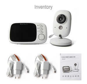 NEW Video Baby Monitor 3.2 Inches LCD