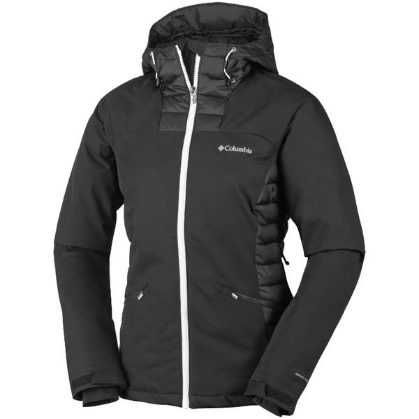 Columbia Women's Salcantay Hooded Jacket Black/White