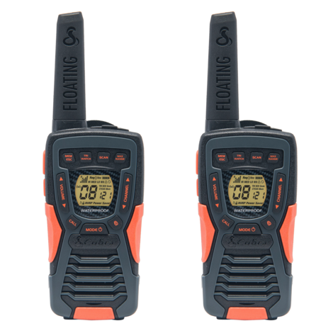 Cobra Adventure AM1035 FLT 12km Floating 2-Way Radio 2-Pack