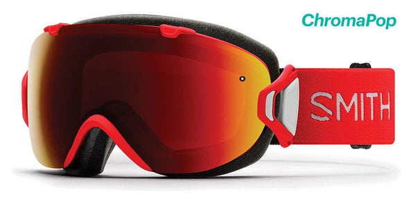 Smith I/OS Lava ChromaPop Sun Red Mirror