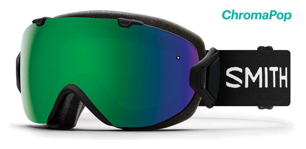 Smith I/OS Black ChromaPop Sun Green Mirror