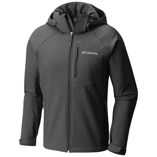 Columbia Men's Cascade Ridge II Softshell Jacket Charcoal Heather