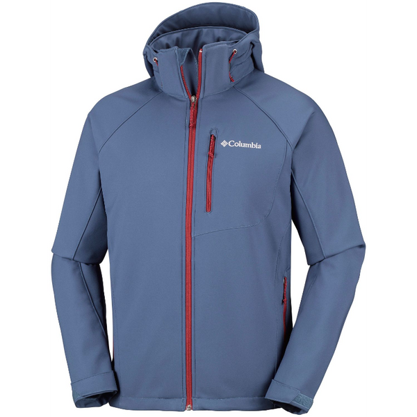 Columbia Men's Cascade Ridge II Softshell Jacket Dark Mountain