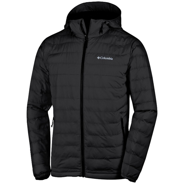 Columbia Men's Powder Lite Hooded Jacket Black