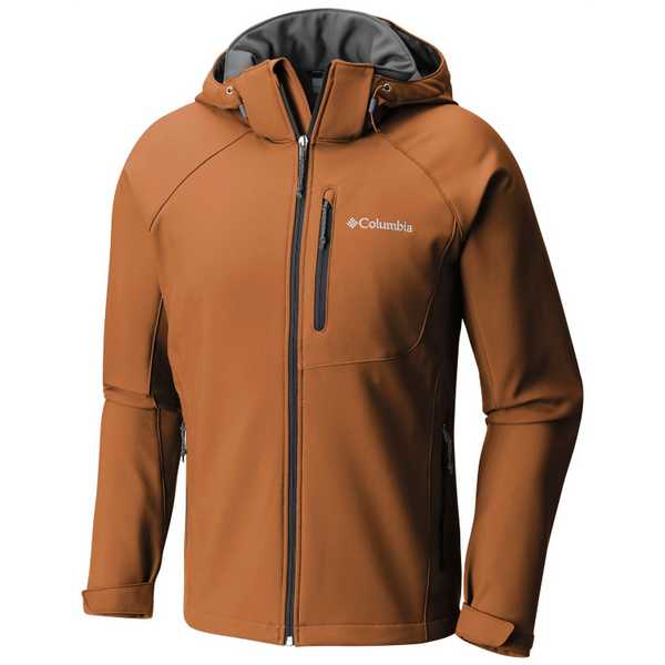 Columbia Men's Cascade Ridge II Softshell Jacket Bright Copper