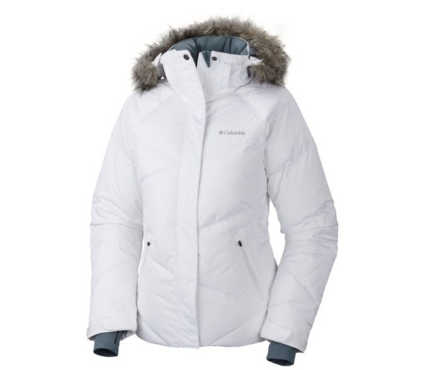 Columbia Women's Lay D Down Jacket White
