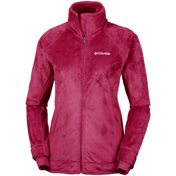 Columbia Women's Pearl Plush II Fleece Jacket Pomegranate
