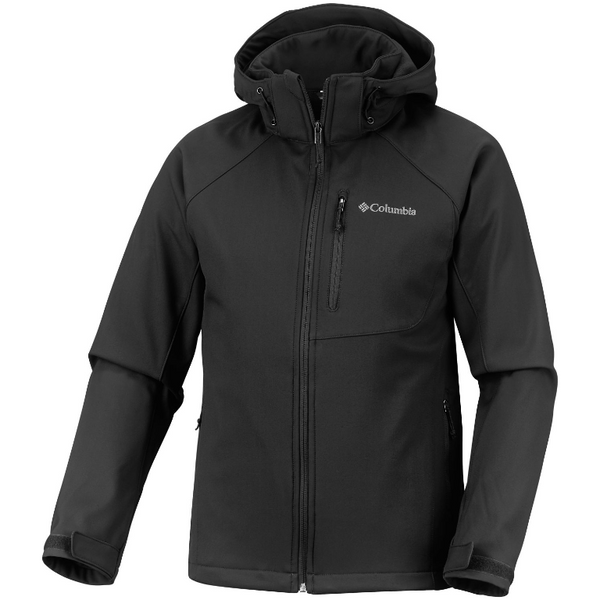 Columbia Men's Cascade Ridge II Softshell Jacket Black