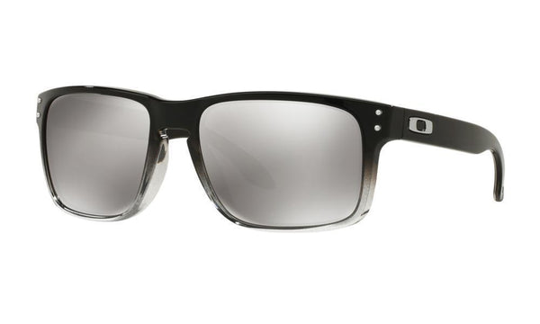 Oakley Sunglasses HOLBROOK GREY INK FADE / CHROME IRIDIUM POLARIZED Oakley Holbrook Dark Ink Fade