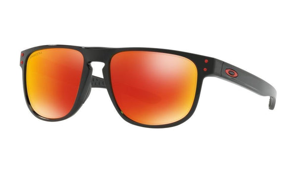 Oakley Sunglasses Polished Black / Prizm Ruby Polarized Oakley Holbrook R