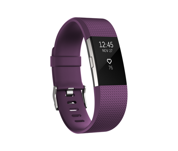 Fitbit Charge 2 Plum - techsmartwear