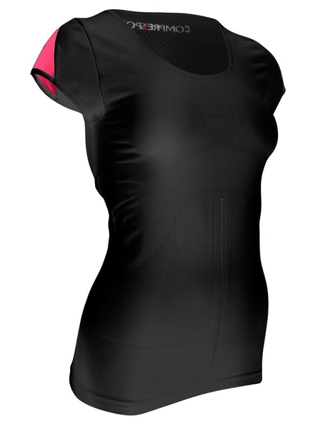 Compressport Woman Trail Running Shirt V2 Short Sleeve - techsmartwear
