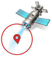 Satellite Device Address Targeting - Client Supplied Landing Page - USA Only