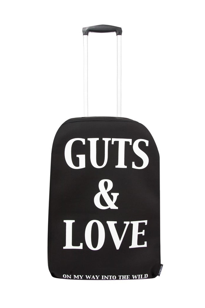 G&L LUGGAGE COVER BLACK WHITE