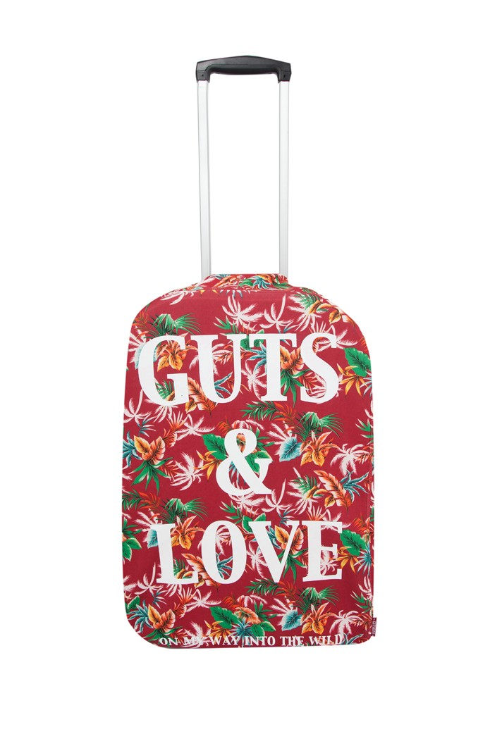 G&L LUGGAGE COVER TROPICAL WHITE