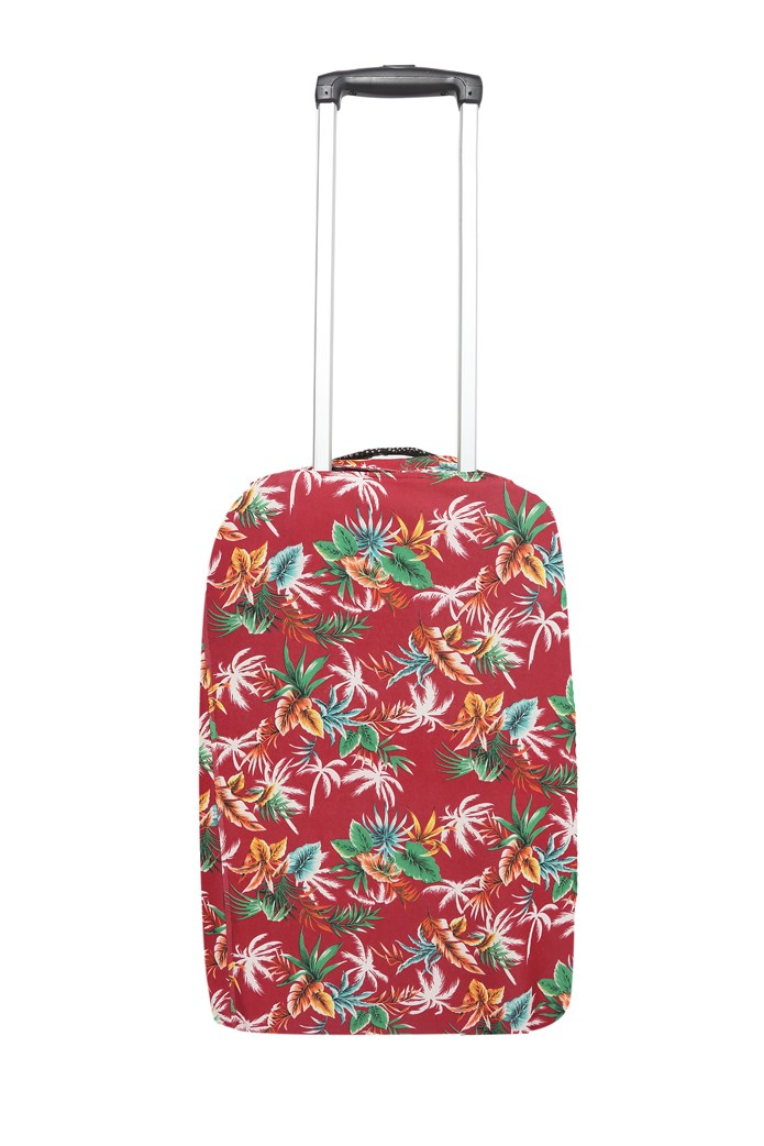 GUTS&LOVE G&L LUGGAGE COVER TROPICAL WHITE