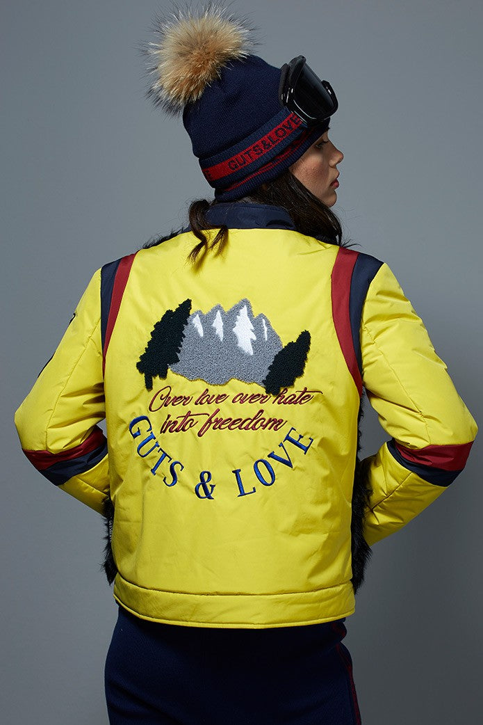 GUTS&LOVE LOVE, HATE & FREEDOM JACKET