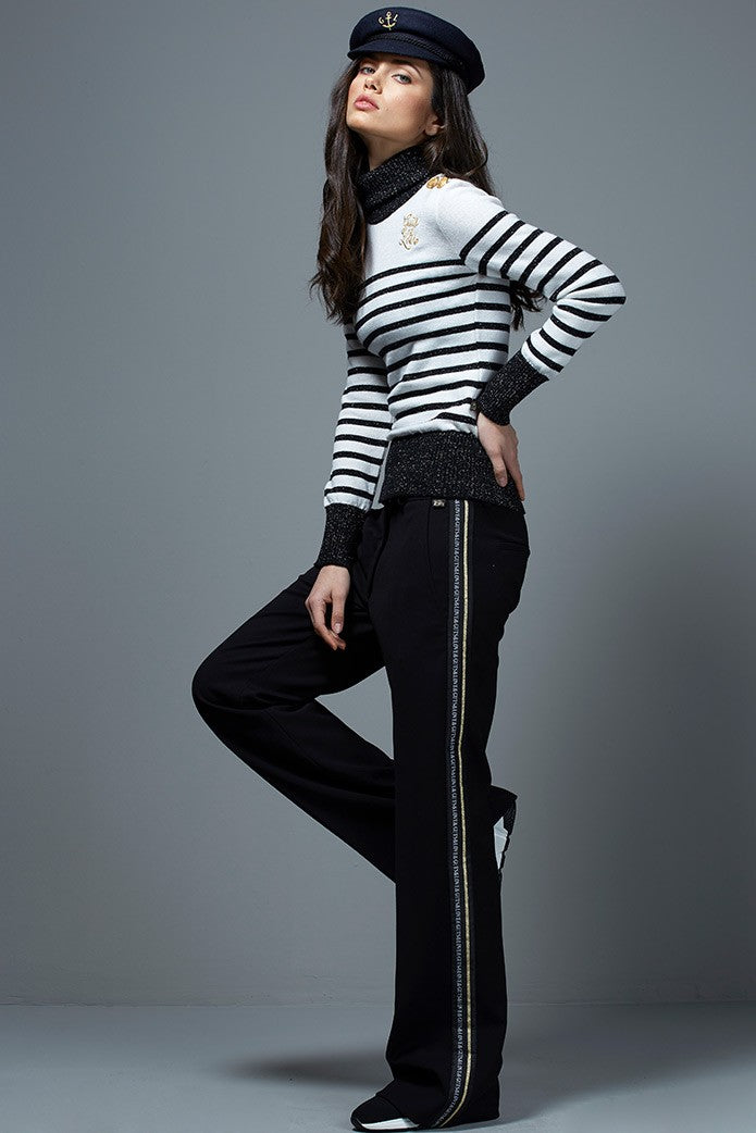 GOLDEN STRIPE TROUSERS