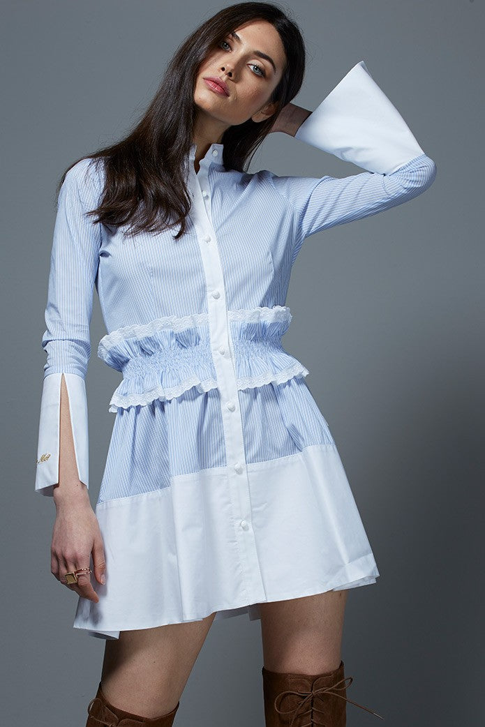LIGHT BLUE MOON DRESS