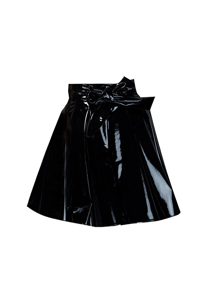 BLACK & BOW SKIRT
