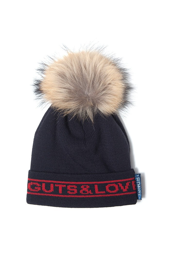 GUTS&LOVE GUTS & LOVE SNOW POMPOM HAT