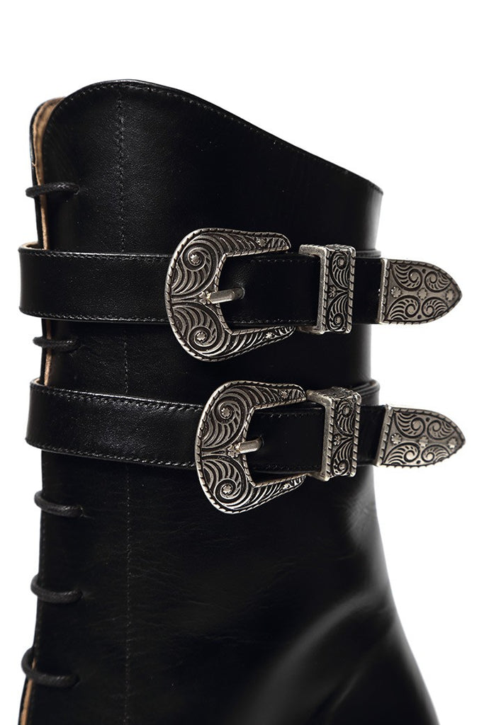 BUCKLES & LACES BOOTS