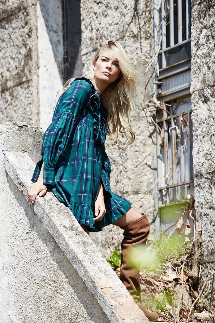 IRISH TARTAN DRESS
