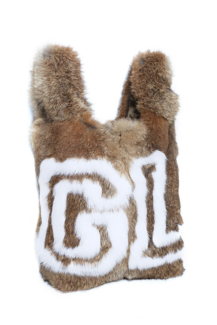 GUTS&LOVE FUR BALL BAG