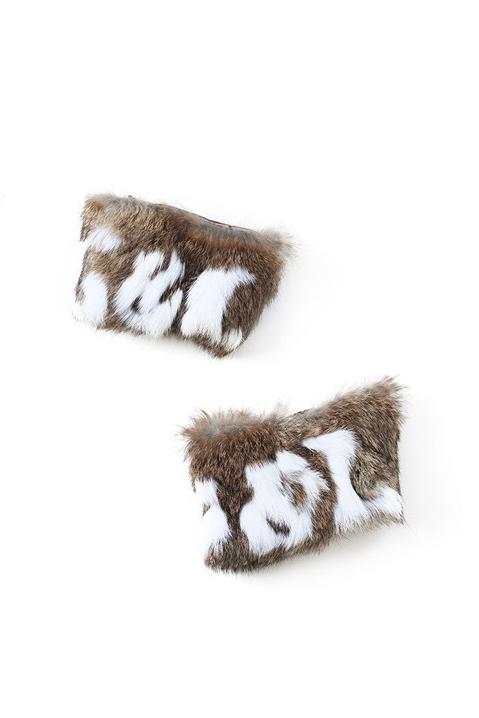 GUTS&LOVE FUR SHOE COVERS