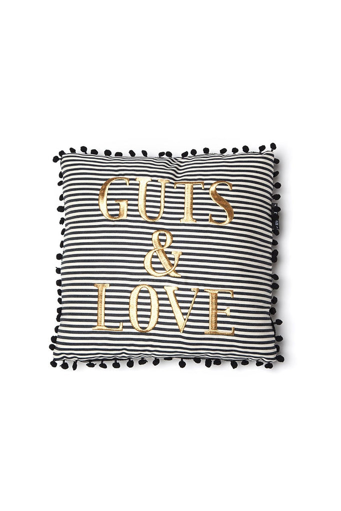 G&L Stripes Cushion Small Negro(45 x 45)