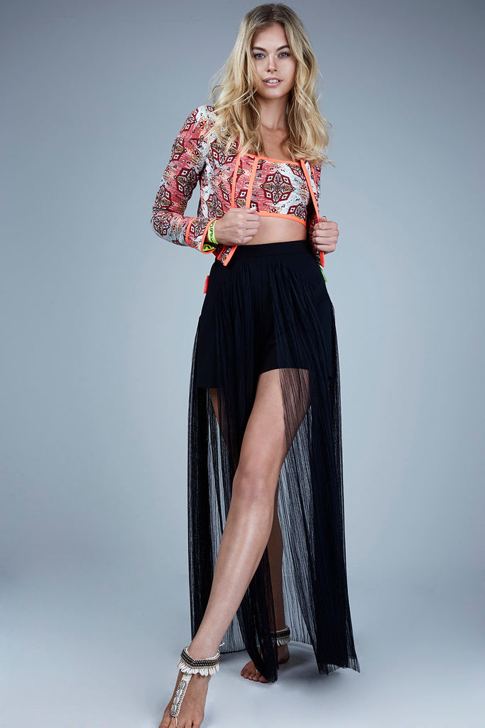 BLACK LARGO SKIRT