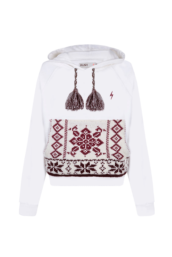 WHITE  COOL SWEATSHIRT