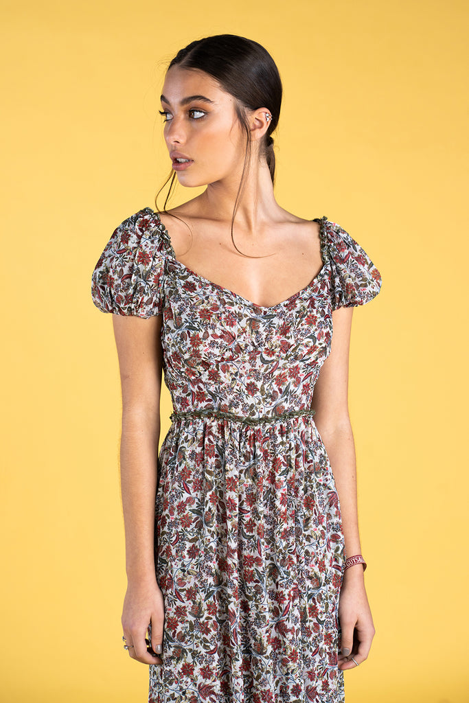 Guts and love. Vestido largo A summer Dream de la colección primavera verano 2020 Underneath the star