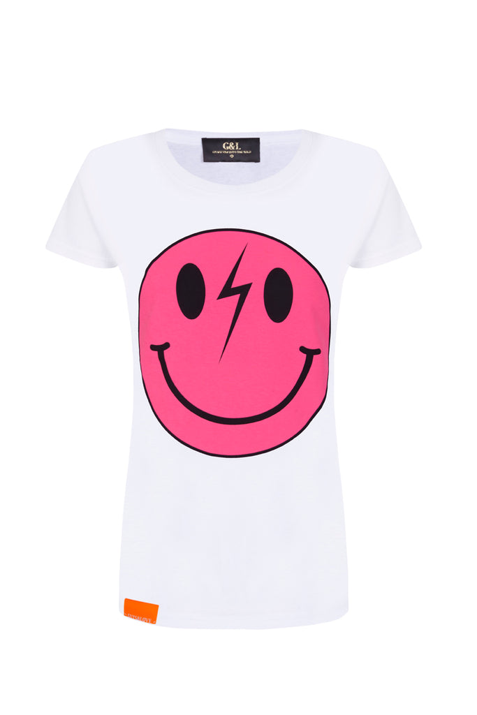 SMILEY RUSH GIRL T-SHIRT