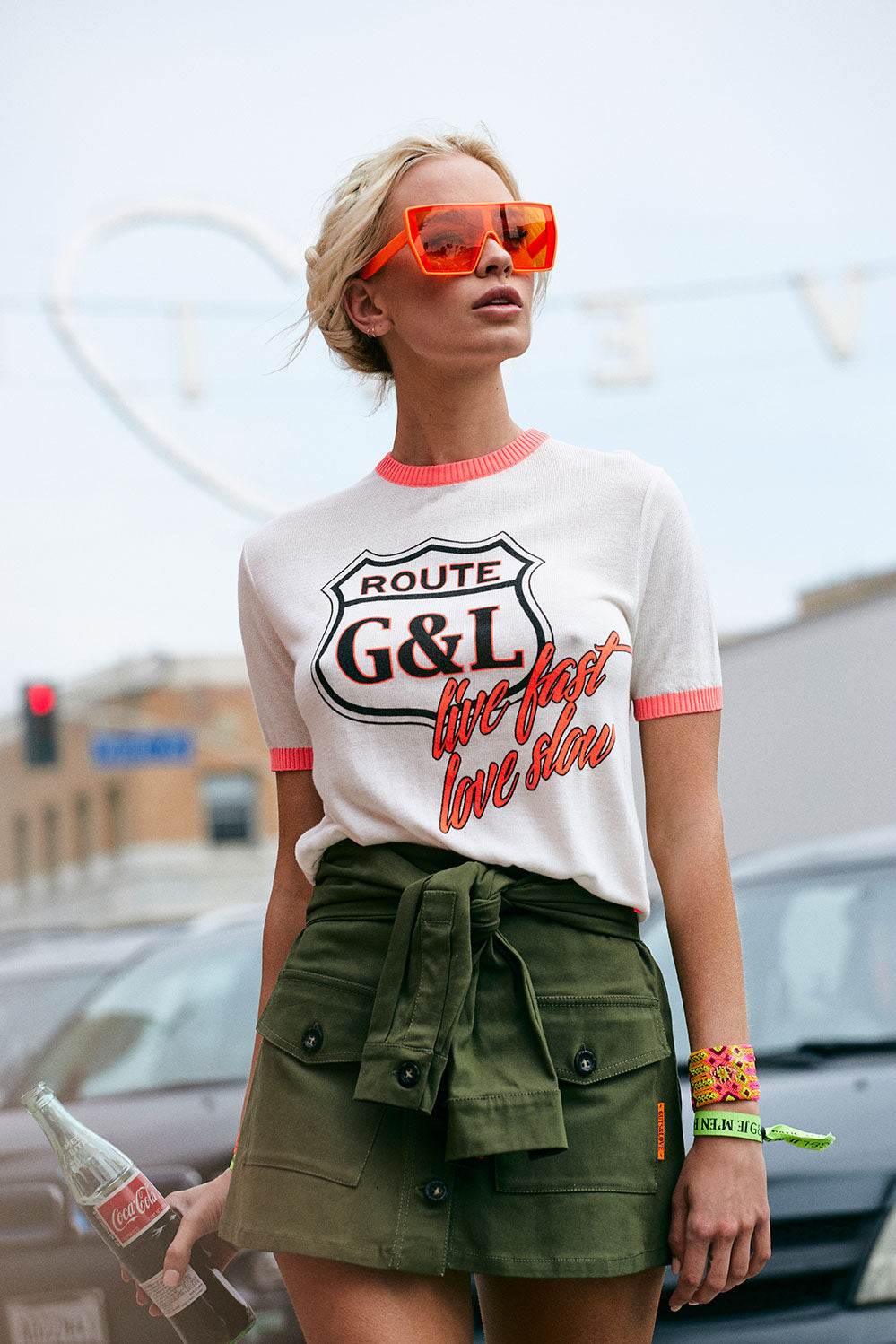 ROUTE G&L TEE