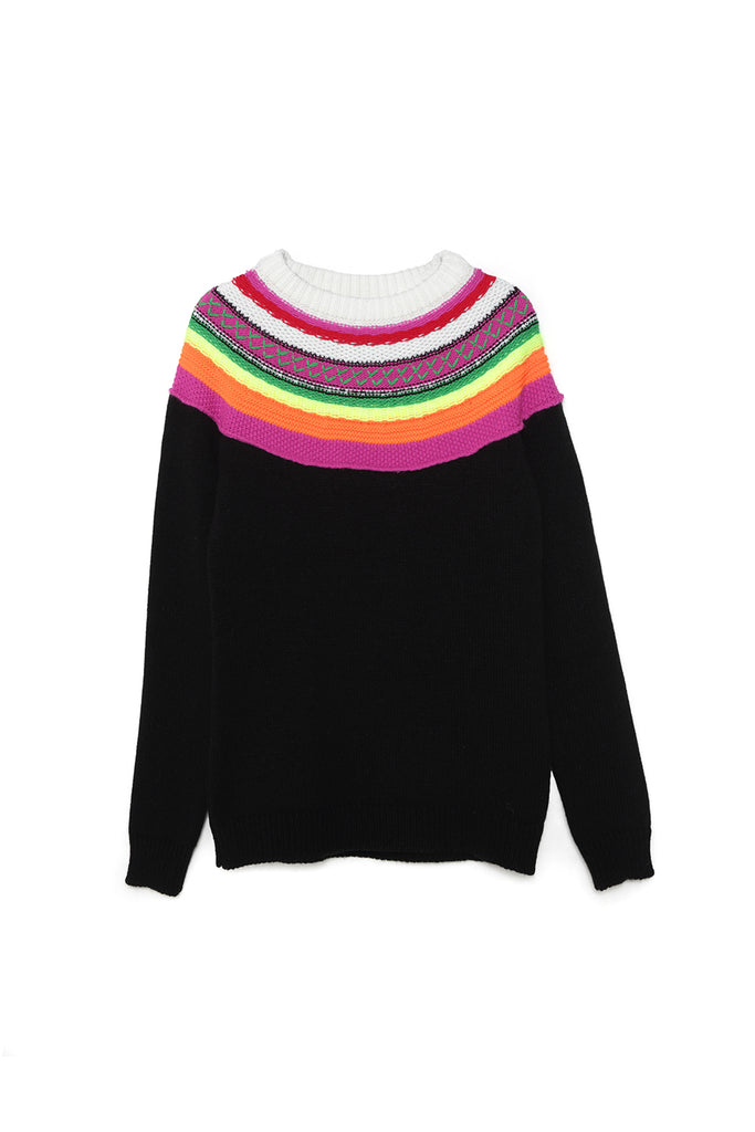Silueta del Jersey RAINBOW SWEATER de la colección TOUCHÉ de Guts and love