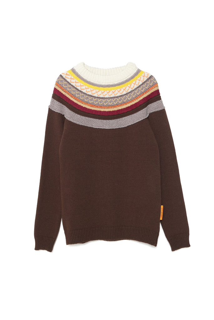 Silueta del Jersey AUTUMN SHADES SWEATER de la colección TOUCHÉ de Guts and love
