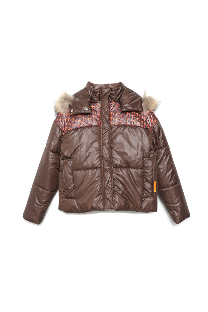 Silueta de Chaqueta acolchado G&L SHORT PADDED JACKET de Guts and love