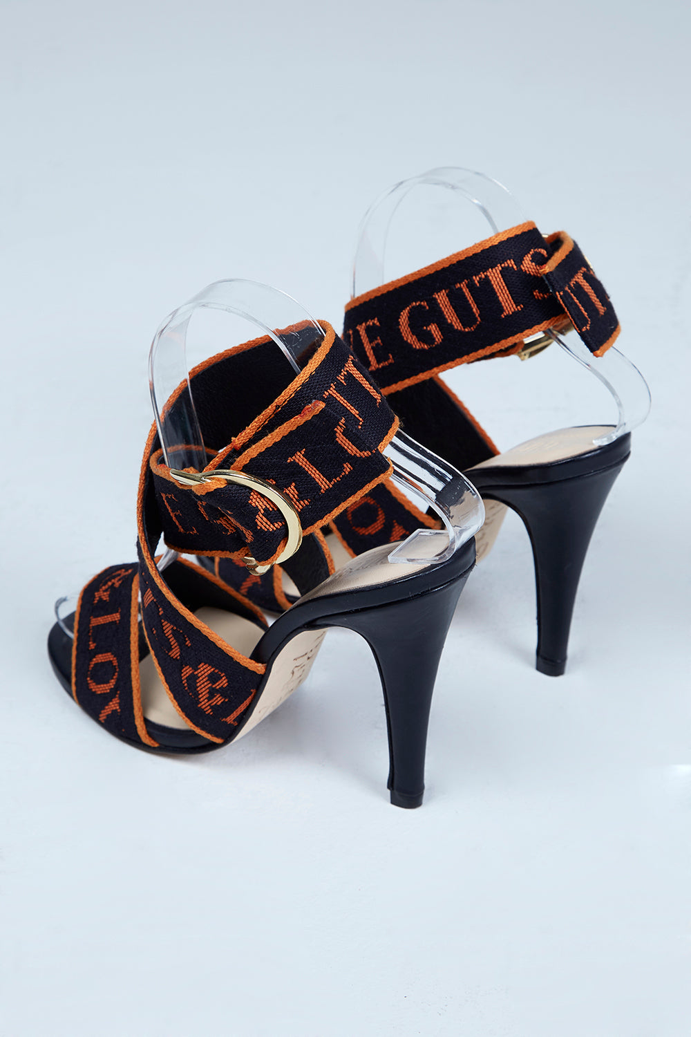 ORANGE  IS  THE  NEW  BLACK  HIGH  HEEL  SANDAL