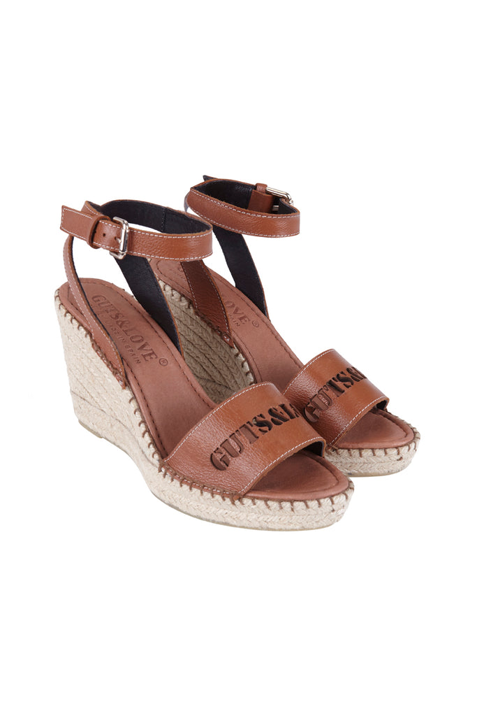 JUTE & LEATHER SANDALS