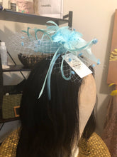 Load image into Gallery viewer, Tiffany Blue Fascinator-NWT